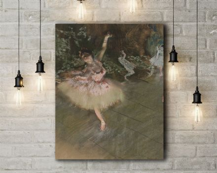 Edgar Degas: The Star. Fine Art Canvas.